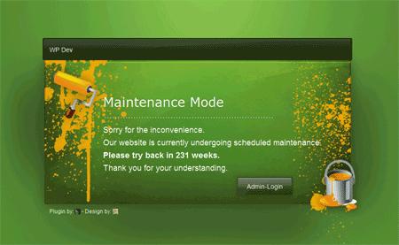 сайт закрыт на техническое обслуживание