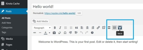 wordpress плагин  vector