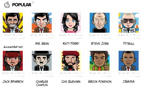 создаем мультяшные аватарки