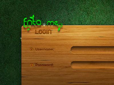 деревянная форма входа в wordpress