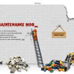 Заставка: Сайт закрыт на техническое обслуживание