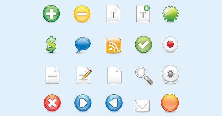 21-glossy-web-icons