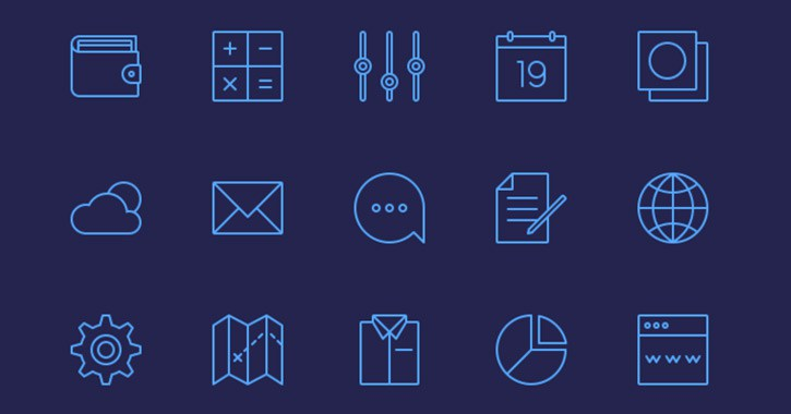 25-simple-line-icons
