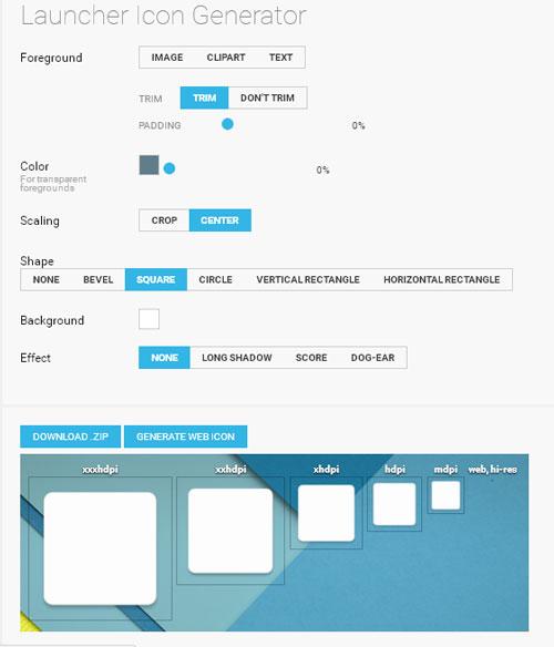 онлайн сервис по созданию иконок для андроид приложений