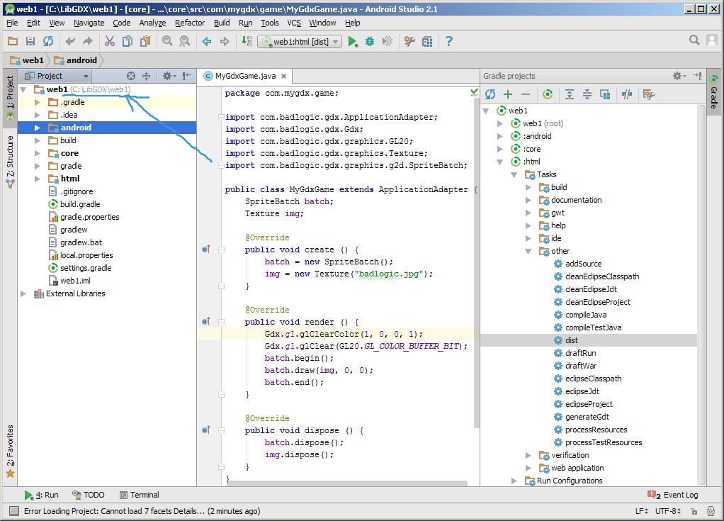 Как сделать HTML5 с помощью libGDX | MnogoBlog