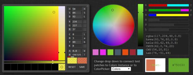 12 лучших JavaScript плагинов Выбора Цвета (Color Picker